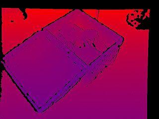 Example Point Cloud Depth Image - BoofCV
